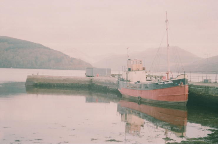 Fishing boat in Inveraray
