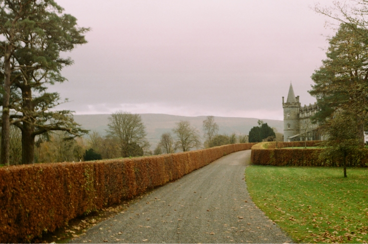 Castle in Inveraray, Scotland