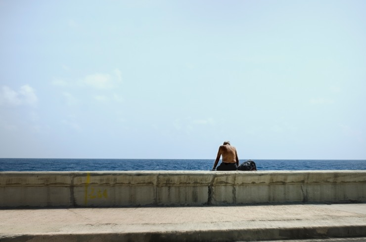 man at Malecon