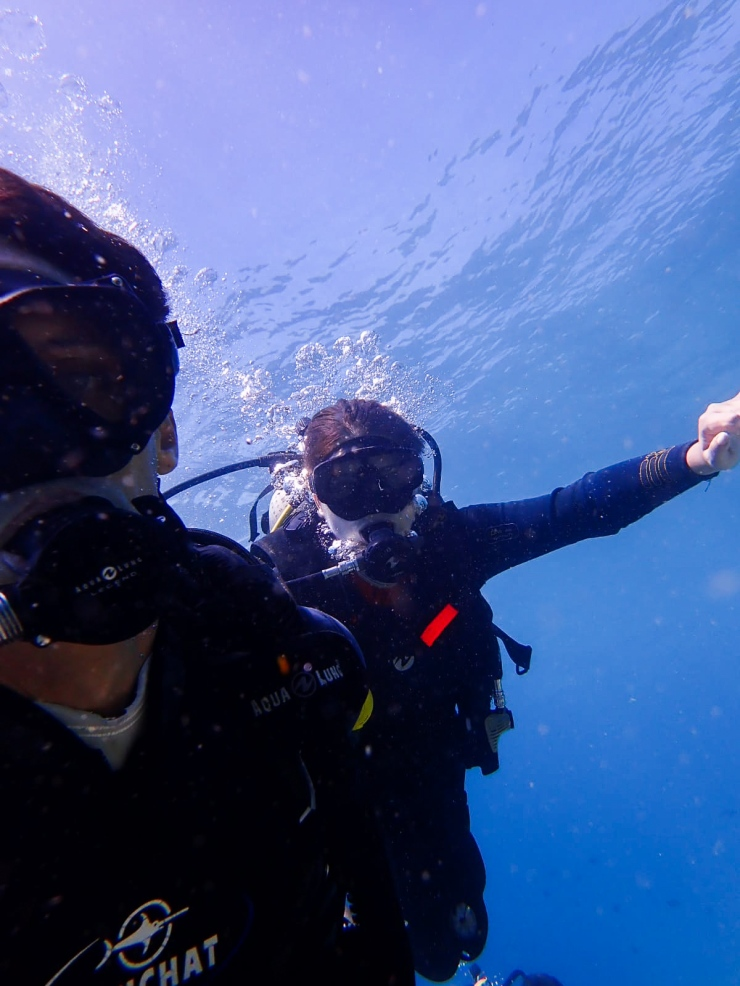 Discovery dive in Pulau Bunaken with PADI instructors